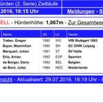 """@ErtaMajo110 3o en Mannheim 🇩🇪 13""""71 (+1,8) PB Mañana a por más en Leuven 🇧🇪 #hurdles @MigVillasenor @GerardoCebrian https://t.co/3nJaq4ezTc"""
