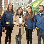 """Gob @Cribravoc junto PDI Curicó lanzan campaña """"Tu Información es Clave"""" en la Plaza de Armas de Curicó @PDI_Maule https://t.co/zXcKmMGYb9"""