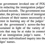 DC Circuit: DOJ cant, in a blanket way, redact immig judge names from complaint records https://t.co/vpsjsvVPei https://t.co/KVy32nOpBT