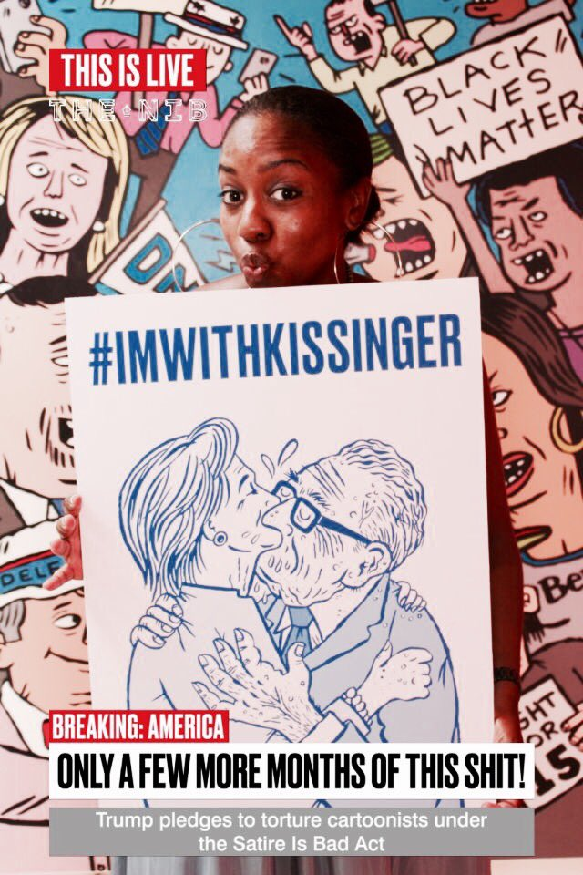 Now that @thenib has packed up and left #DemsInPhilly here's a thing I did that you might like. #imwithkissinger https://t.co/8BzVAdAfwM
