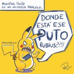 Hey @Rubiu5 lo habias pensado de esta forma? XD 😂😂😂 #PokémonGo #ElRubiusFanArt #pikachu https://t.co/LWLFZH00xf