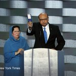 Khizr Khan delivered an emotional rebuke of Donald Trumps ideas on religious tolerance https://t.co/O1AAT8Yjvy https://t.co/VYTsaKCUH2