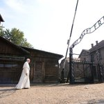 Pope Francis made a historic visit to Auschwitz today: https://t.co/5vJFJLzbJc https://t.co/dV45z1IW89