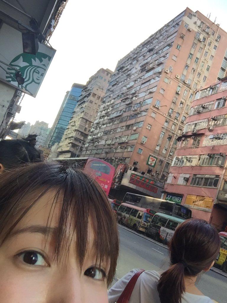明日はANISON DREAM STAGE2016‼︎  ついたよ!香港っ。 香港の皆さま、よろしく…