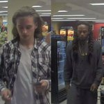 WANTED -Police seeking 2 suspects for theft&fraud. Anyone w/ call @CrimeSDM @MacsCrimeBuster https://t.co/UOwpdD4hem https://t.co/WVwEE1U7sd