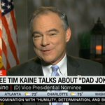 """Kaine admits: """"I do have a slightly goofy quality"""" https://t.co/QPQr1gLFHa"""