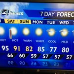 Its going to be hot hot hot this weekend! Sunscreen & plenty of water. #KXLY https://t.co/Gdj0wEBlCy