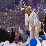 Is that confetti, or 30000 shredded emails? #ImWithHerNow https://t.co/1emJ2alLj7