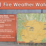 The Fire Weather Watch for Saturday afternoon and evening has been expanded eastward to include Spokane now #wawx https://t.co/imQVKjTnRK