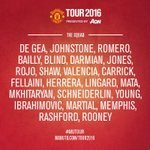 Were heading to Gothenburg today! A reminder of the #MUTOUR squad to face Galatasaray... https://t.co/zO6r4nlJva