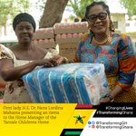 .@FirstLadyGhana is #ChangingLives of the children from #Tamale Childrens Home. #TransformingGhana #Ghana https://t.co/lS2r9eapCq