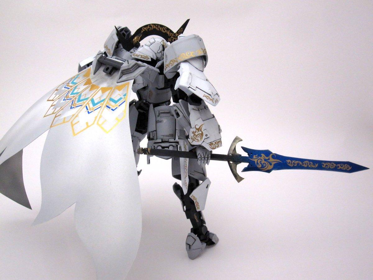 俺FA「Spirit of Knighthood」完成~! This is the 騎士って感じで作…