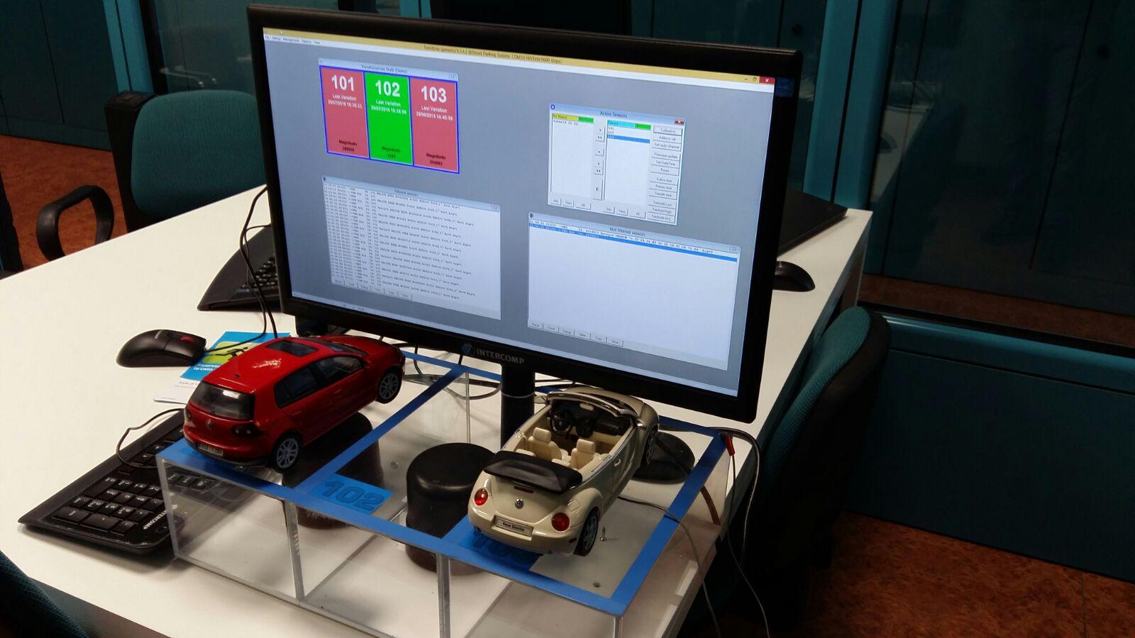 Smart parking test at Smart City Lab   #SmartCity #smartpark  #IoT  #lorawan https://t.co/ydNPCrBW0m