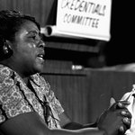 Fannie Lou Hamer 4 championing black voting rights, especially in her home state of Mississippi. #BlackWomenDidThat https://t.co/VcJySoC1XP