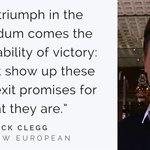 The Brexit Government must be held to account for its promises, says MP & former Deputy Prime Minister @nick_clegg https://t.co/gy1F6p4KMK