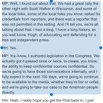"Pence tells @hughhewitt that hell have ""conversations internally"" about press bans following treatment of @jdelreal https://t.co/GfIr3j2qbx"