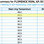 With 3 days left, July 2016 is hottest July on record in #MyrtleBeach and the 2nd hottest in Florence #scwx https://t.co/bUnYIMfFWK
