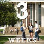 3 weeks until Move-In Day! (But whos counting?) #uncavl20 #avlwelcome https://t.co/EyPHveYuG3