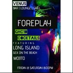 #ForeplayFriday tonight at Venus,osu. GHC10 cocktails + Free Shots all night 🎉🎉 #AccraWeDey #ThisWeekendInAccra https://t.co/FLkZUqYGFq