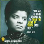 Ida B. Wells: Led the suffragette movement, exposed lynching in the South & cofounded the @NAACP. #BlackWomenDidThat https://t.co/Q3v4NoyJrC