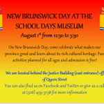 Join us on #newbrunswickday for fun (and free!) activities! @FredTourism @DowntownFred https://t.co/03IfHefPm8