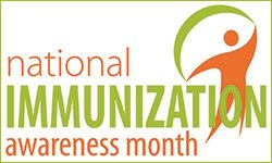 August is National Immunization Awareness Month. Watch for key info all month! #NAIM16 #VaxWithMe https://t.co/lbiUt4fpnn