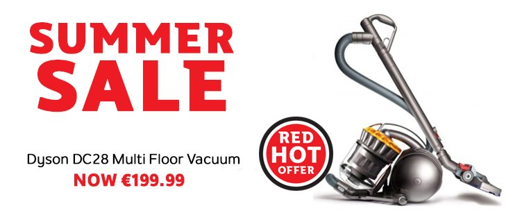 We've some fantastic #BankHolidayWeekend offers in store or online such as this Dyson DC28 - https://t.co/TTxTckO5gW https://t.co/6JElldc88J