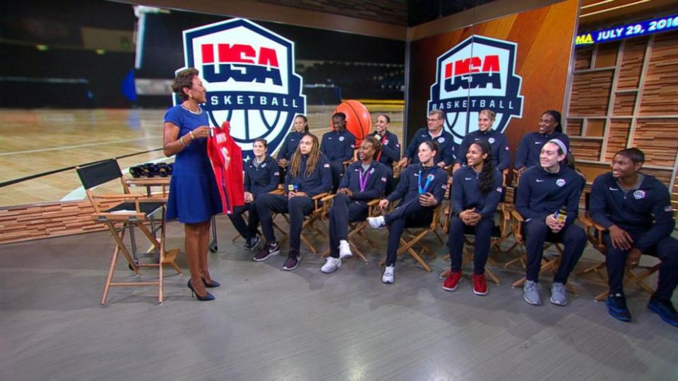 U.S. Olympic women's basketball team is ready for Rio and hoping for 6th straight gold medal