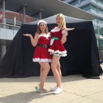 .@Lyndsay_CTV is live at noon from Kitchener City Hall for the big 105.3FM reveal! Come down & meet Santas helpers! https://t.co/LJEOYxjWZp