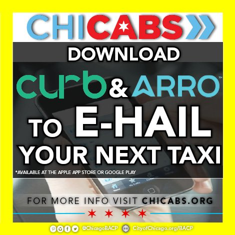 CHICABS a safe & secure way to hail and pay for a Chicago taxicab. Find out more: