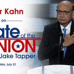 This Sunday: Democratic National Convention speaker Khizr Khan joins #cnnsotu https://t.co/qGE0D38i8p