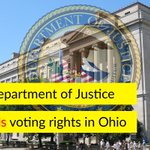 """Over 100k Ohio voters were purged from voter rolls for """"inactivity"""" - this week, the DOJ took action https://t.co/f98SCU3FTz"""