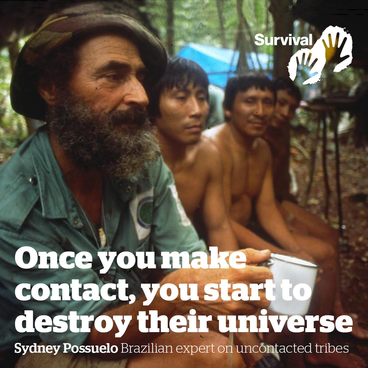 All uncontacted tribal peoples face catastrophe unless their land is protected. RT to show your support. https://t.co/fusQ8pYF6o