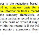 Important #FOIA decision from D.C. Circuit: Theres no basis for non-responsive redactions. https://t.co/iQOZYkdt0N https://t.co/iOlI7yPy1i