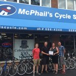 McPhails has been serving #kwawesome for 100 yrs! Staff are experienced cyclists, great customer service #buylocal https://t.co/bk60wClMnP