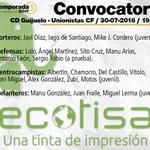 📋 CONVOCATORIA @Ecotisa_ | Lista del 2º amistoso de la #PretemporadaUSCF, en Guijuelo.  👉 https://t.co/Hila8Uz8YO https://t.co/bcelFFuPBq