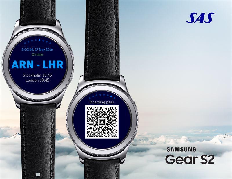 RT @sn26567: .@SAS and @SamsungMobile make flying simpler via smart watch