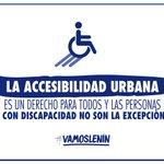 Debemos asumir la discapacidad como un tema directamente relacionado a los derechos humanos. #VamosLenín https://t.co/Y5Kxwyxlgx