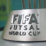 La copa del Mundial #FIFA #FUTSAL Colombia 2016 estará durante la tarde de hoy en la @AlcaldiadeMed. https://t.co/rlVDxqb4bL