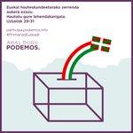 En directo el último debate de primarias en Euskadi: https://t.co/muGQmnwPwC https://t.co/CtjfDPWB4p