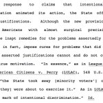 """4th Circuit cuts deep at NC general assembly here on election law changes, with """"surgical precision"""" line https://t.co/V7UAkOFq1P"""