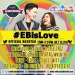 Love love love.. #EBisLove Happy weekend ADN.. @officialaldub16 @ALDUBARKADS @MaiDenALDUBRKDS https://t.co/8WPA2S2A7e