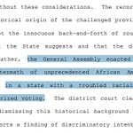 4th Circuit spends a lot of time focusing on tick-tock of the passage of NCs #VoterID law & circumstances around it https://t.co/EpMmJRJf2F