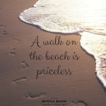 """""""A walk on the beach is priceless..."""" especially in Myrtle Beach!👣🌴 https://t.co/fBY1sE0tBp https://t.co/mCminl5cJC"""