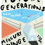 #NYC / #BK: See you tonight at #FutureGenerations record release show at @MercuryLoungeNY! https://t.co/wYwwiPD8MW https://t.co/Y3D8qIY8DC