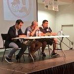 Comienza el III Encuentro del #FútbolPopular con la intervención de nuestro Vpte. Miguel A. Sandoval. https://t.co/MzXyOc2kOp