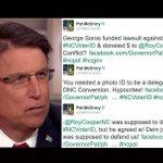NORTH CAROLINA: Gov. Pat McCrory Melts Down After Federal Court Strikes Down Racist ... - https://t.co/4GOhsotlsv https://t.co/mWBMCDKGik