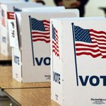 """Appeals court strikes down North Carolina's """"""""discriminatory"""" voter ID law https://t.co/tEWf5AgfBY https://t.co/ya1ygNtuS2"""