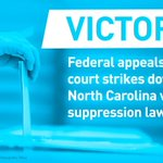Victory: North Carolina Legislators Won't Be Able to Suppress the Vote This Election https://t.co/LAWhWQUUYy https://t.co/iEKmpu93vx