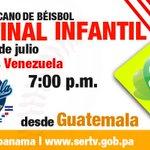 En una hora dará inicio la Semifinal Latinoamericana Infantil de Béisbol Panamá vs Venezuela, a las 7pm. https://t.co/UDu0E89hMn